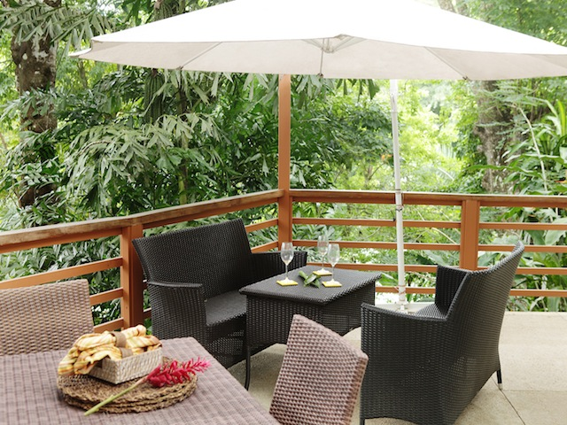 Private Terrace and Outdoor dining
