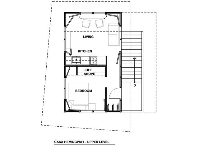 Floor Plan -Upper Level