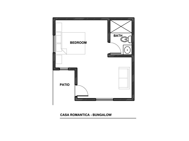 Floor Plan- Bungalow